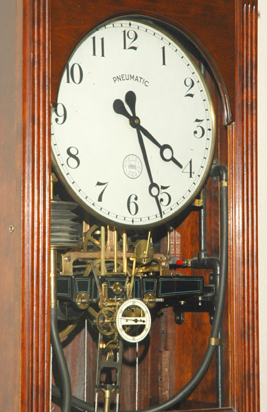 Pneumatic clock                   at Weld County Courthouse