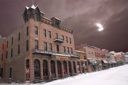 The Bullock                 Hotel in Deadwood South Dakota