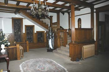 Croke                             Patterson Mansion main room when the Ikelers                             lived there