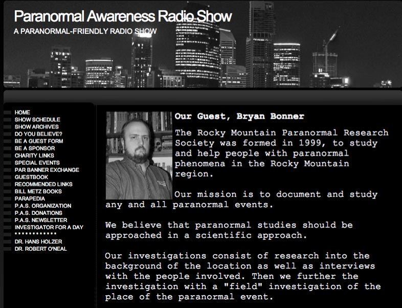 Paranormal Awarness Radio