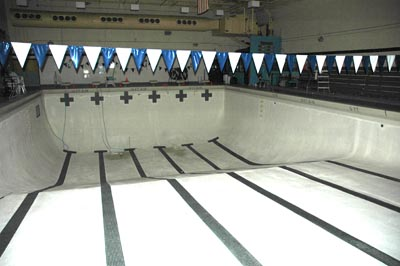 Swimming pool at Platte Canyon                   High School