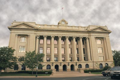 The Weld County Courthouse
